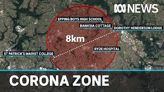 The 8km zone in Sydney that has health authorities worried | ABC News