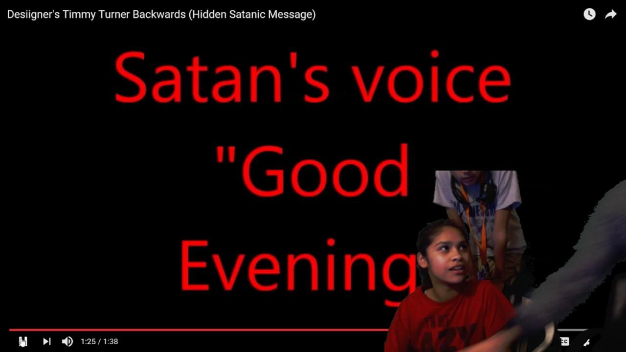Reacting To Desiigner S Timmy Turner Backwards Hidden Satanic Message Youtube