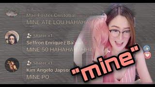"""Flexi'n Biniling Wigs sa stream nang biglang may nag comment ng """"Mine"""""""