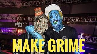 GRIME ART TIMELAPSE | AUTODESK SKETCHBOOK