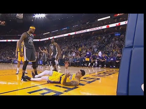 DeMarcus Cousins Destroys Kyle Kuzma With Dunk Then Gives Him A Death Stare! Warriors vs Lakers