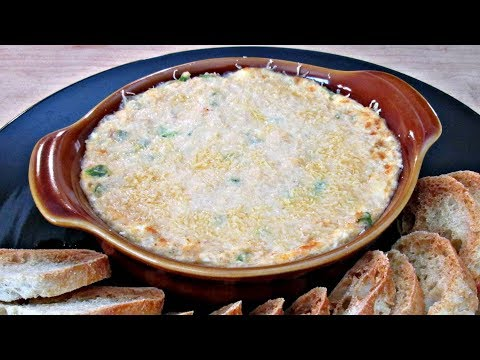 Crab Dip - Cold and Hot Baked Recipe - PoorMansGourmet