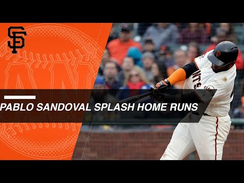 All of Sandoval's splash landings in San Francisco