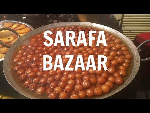 Food in Indore | SARAFA BAZAAR | Indian Street Food