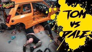 Last ditch effort to finish the Renault 5 *TOM vs DALE The Ultimate Car Build Off - Tom Episode 17