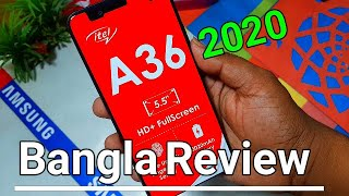 Itel A36 Review and unboxing ||Bangla|| TK= 4990/=