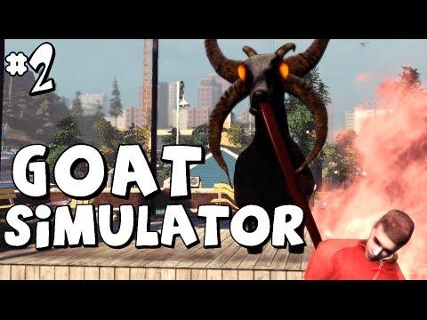 Goat Simulator - LA CAPRA SATANICA OBESA! - #2