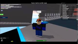 My final destination roblox version:Ted's death