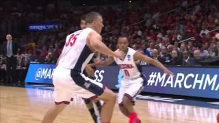 Xavier vs. Arizona: Matt Stainbrook and-one