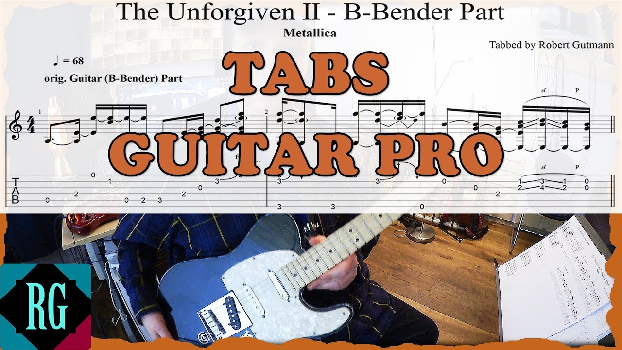 How To Really Play Unforgiven Ii By Metallica Tabsguitar Pro