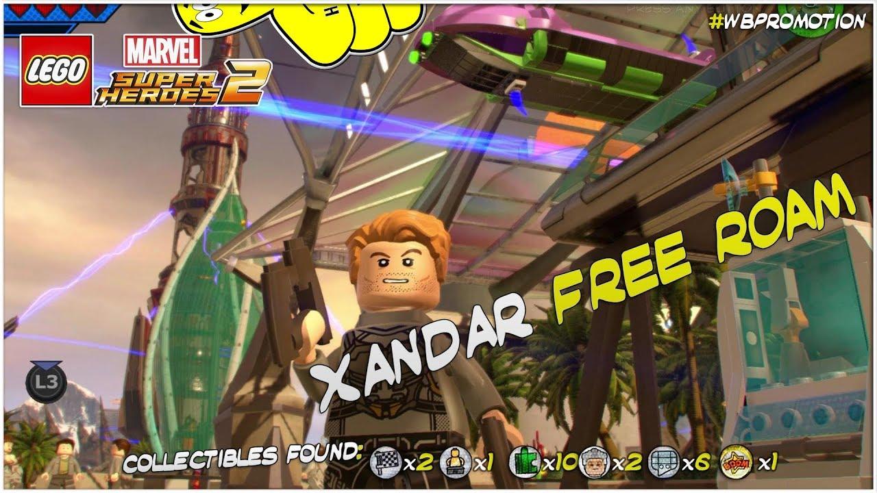 Lego Marvel Superheroes 2: Xandar FREE ROAM (All Collectibles) – HTG