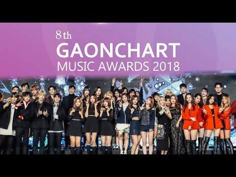 Live 8th Gaon Chart Music Awards Gma 2019 Blackpink Ikon Twice Many More Youtube
