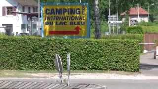 Camping International DU LAC BLEU  aan het meer van Annecy te Frankrijk