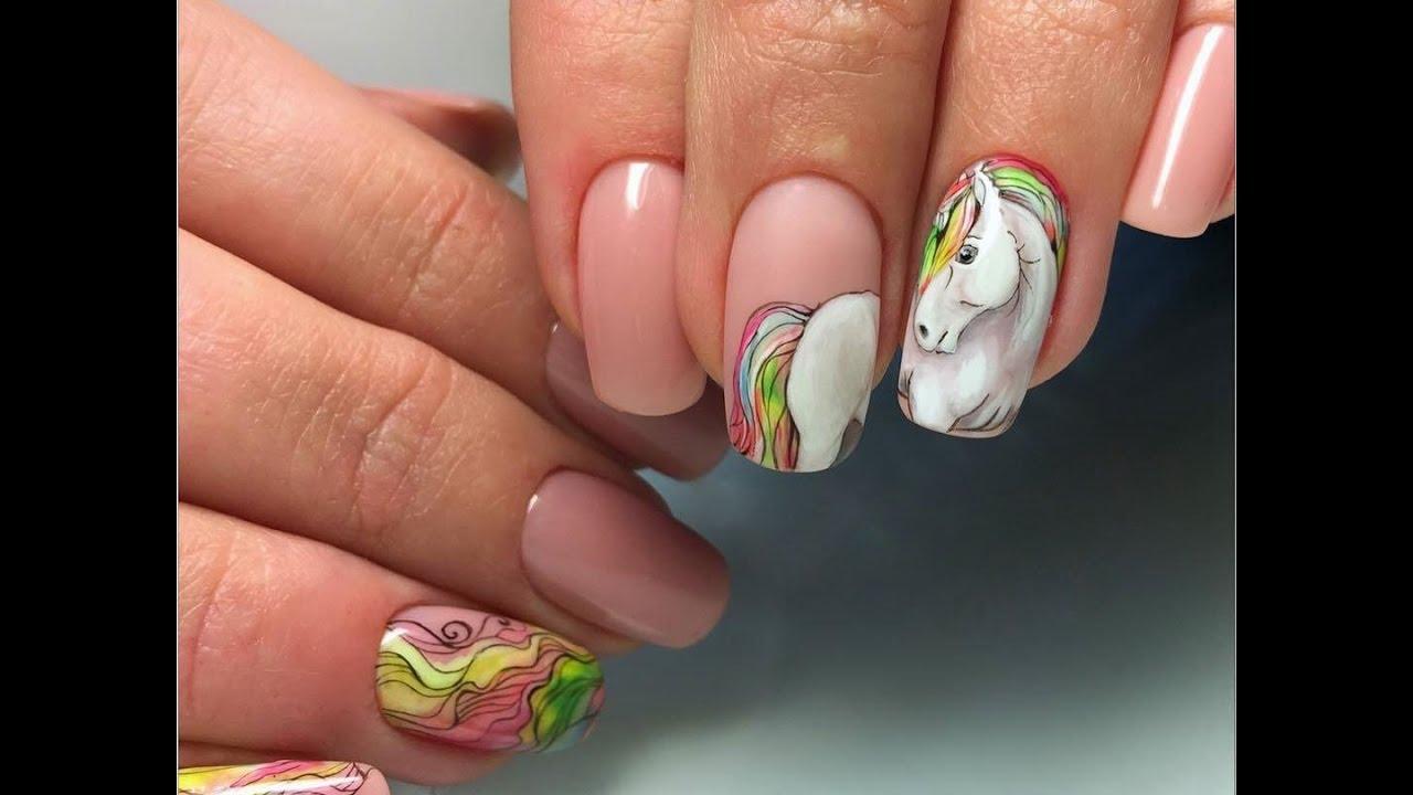 animal nail art - cute