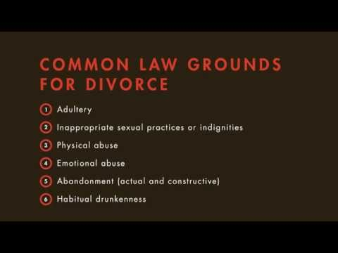 Family Law tutorial: Grounds for Divorce | quimbee.com