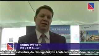 Interview with Boris Wenzel, CEO at DCT Gdansk SA 2017 Video