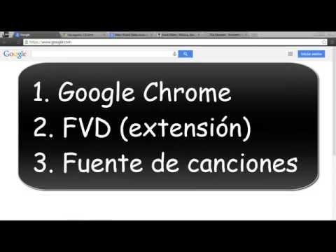 Descargar Música mp3 [FVD 1.4.0] [Extensión Google Chrome]