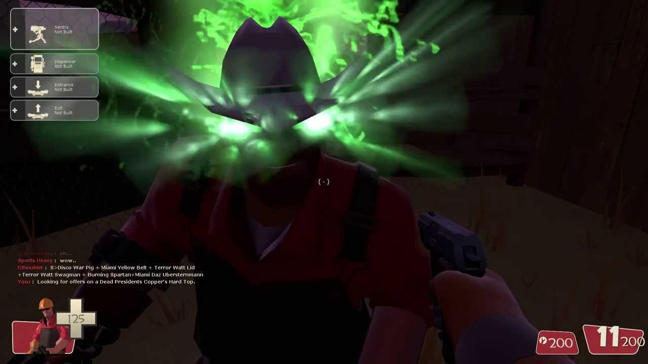 Singularity Killstreaker With Agonizing Emerald Sheen