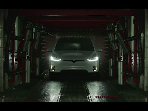 Model X goes to New York Fashion Week: Teaser | Tesla Motors x Neiman Marcus