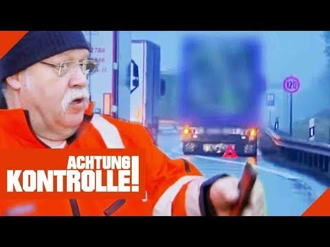 Autobahn-Unfall Mit LKW: Wer Hat Schuld An Dem Crash? | Achtung Kontrolle | Kabel Eins