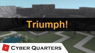 Triumph: Cyber Quarters (1v1) | Tower Battles [ROBLOX]