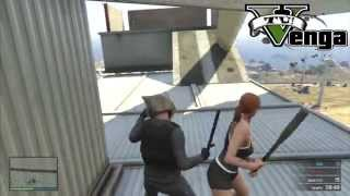 Venga Tú! -GTA V Online- Pelea a muerte en el molino de viento
