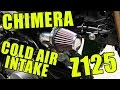 Chimera Cold Air Intake Z125 Pro, Install / Review