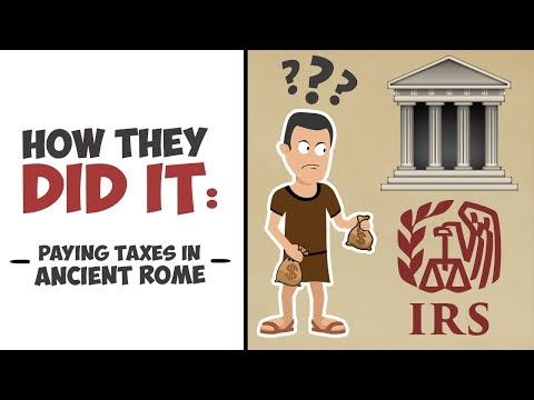 How They Did It - Paying Taxes in Ancient Rome