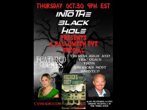 America's Most Haunted Places 1/2 w/Guests Theresa Argie & Eric Olsen