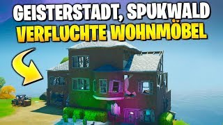 Ghost town 👻 Haunted Forest & Haunted Household | Fortnitemare Challenges German