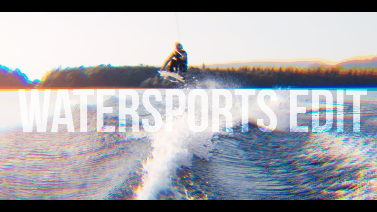 Gutsy air chair flip over dock mike murphy on hydrofoil waterskiing - Wakeboard Airchair Edit