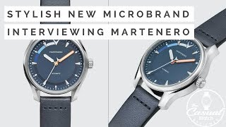 Learn about creating a Watch Microbrand from Martenero founder