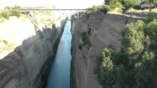 Коринфский канал (Corinth Canal. Greece.)(Видеозарисовки моих путешествий. О Греции: https://www.youtube.com/watch?v=874EvkaJ44c&index=4&list=PL2WbYyHT7UGp9vLwzwfCDfrh1ZBqgfH1Y ..., 2013-03-16T18:49:14.000Z)