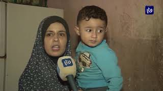 مياه الأمطار تفاقم معاناة أهالي غزة وسط انعدام أساسيات الحياة (26/10/2019)