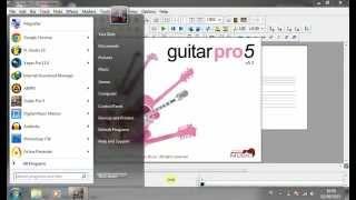 tutorial cara mengganti suara instrumen guitar pro