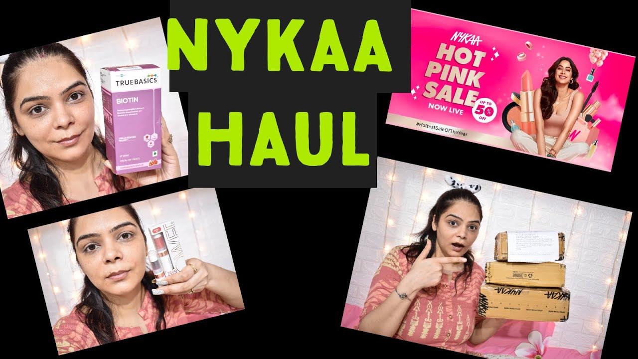 NYKAA HOT PINK SALE #HAUL #NYKAAHAUL .