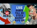 Bank Stocks Fall As Stock Market Rips Up - Options Trading Strategies