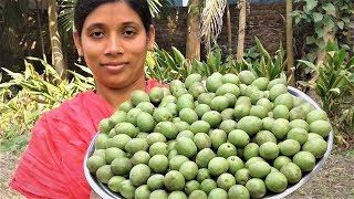 Gota Jolpai er Achar Recipe | Bengali Jolpai Recipes | Olive Pickle Cooking By Street Village Food