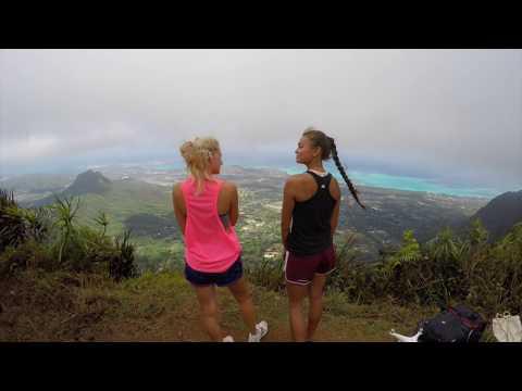 Hawaii Loa Ridge 4K Drone video
