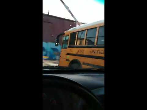Andi and Kenny  - Video Shows Train Narrowly Miss School Bus Stopped Under Crossing Arm