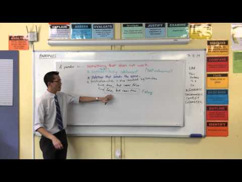 Introduction to Paradoxes (1 of 3: Algebraic Fallacy)