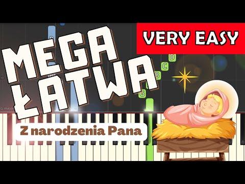 🎹 Z narodzenia Pana - Piano Tutorial (MEGA ŁATWA wersja) 🎹