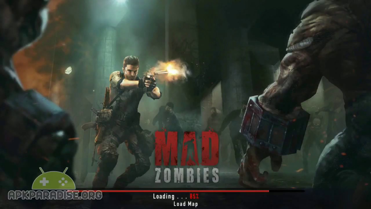 MAD ZOMBIES Android Gameplay MODDED (Free Shopping)