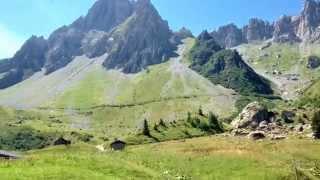 Day 2 of Tour du Mont Blanc trek - Les Contamines to La Croix de Bonhomme