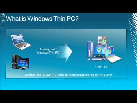 Tech·Ed North America 2011 Reduce VDI Costs with Windows Thin PC