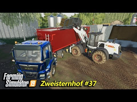 Spraying herbicides, selling silage and feeding cows | FS 19 | Zweisternhof #37 | 4K(UltraHD)