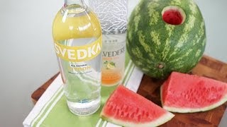 How To Spike Watermelon With Vodka! | Bbq Recipes | Food How To