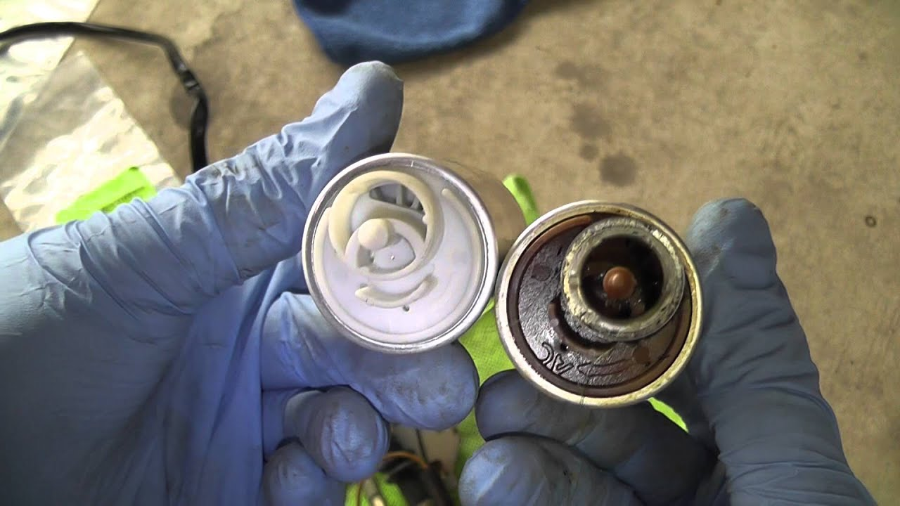 Volvo 240 in tank fuel pump replacement