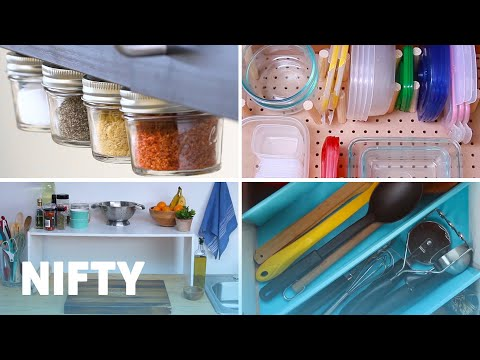 9 Clever Kitchen Organization Hacks
