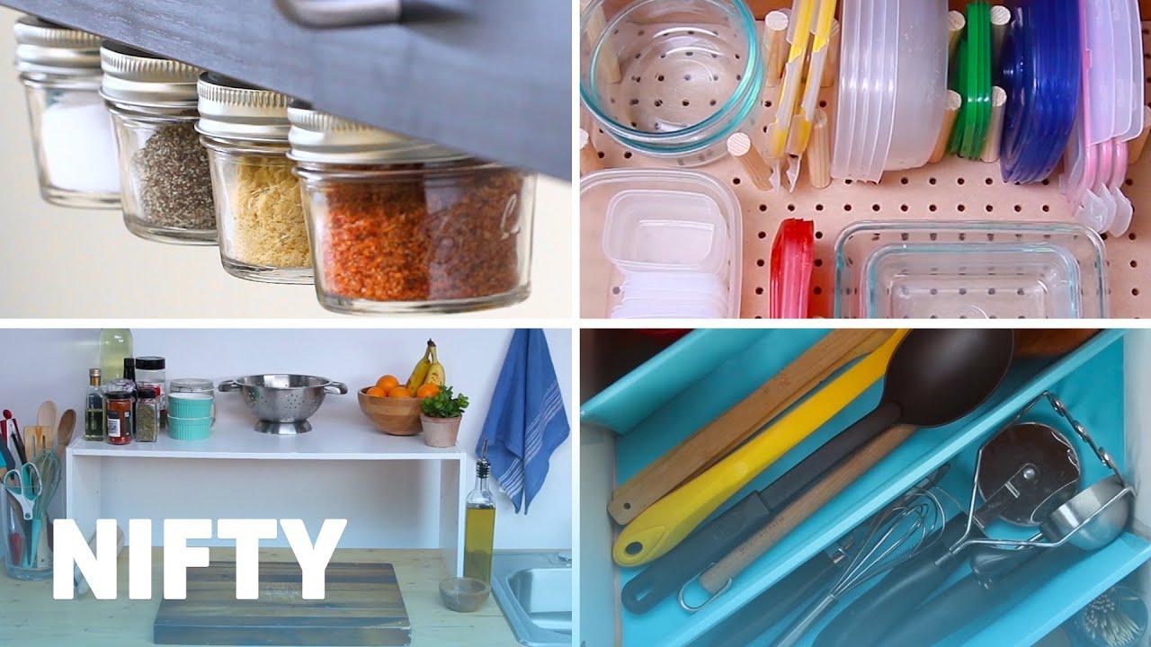 9 Clever Kitchen Organization Hacks